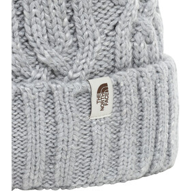 The North Face Cable Minna Bonnet Femme, tnf light grey heather